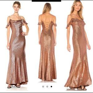 ❤️ Rachel Zoe Rose Gold Sequin Dress ❤️